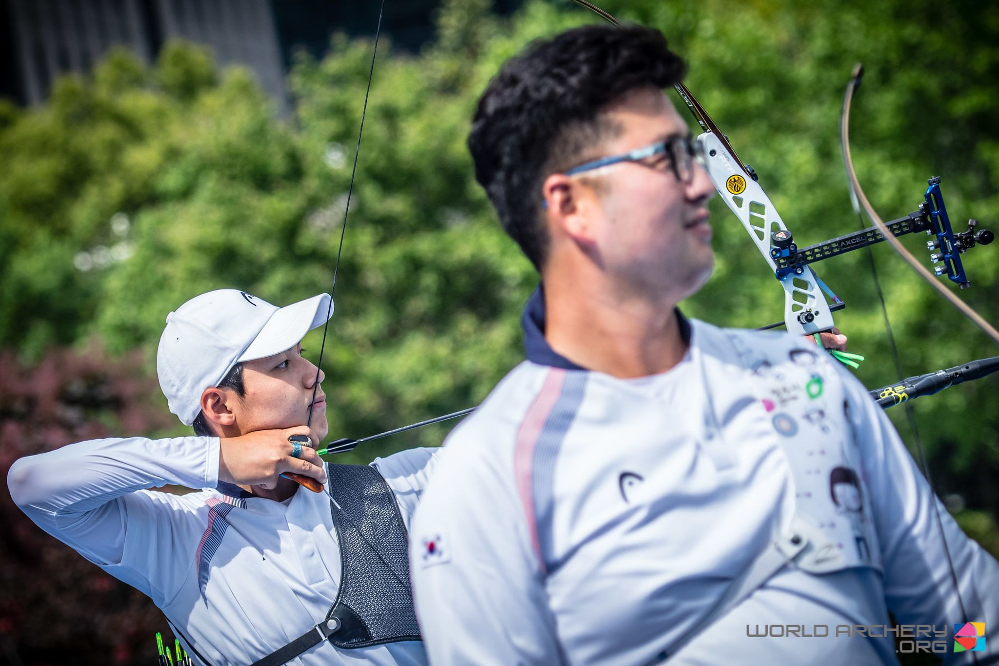 Lee beats fellow South Korean Kim to recurve men's gold at Shanghai Archery World Cup
