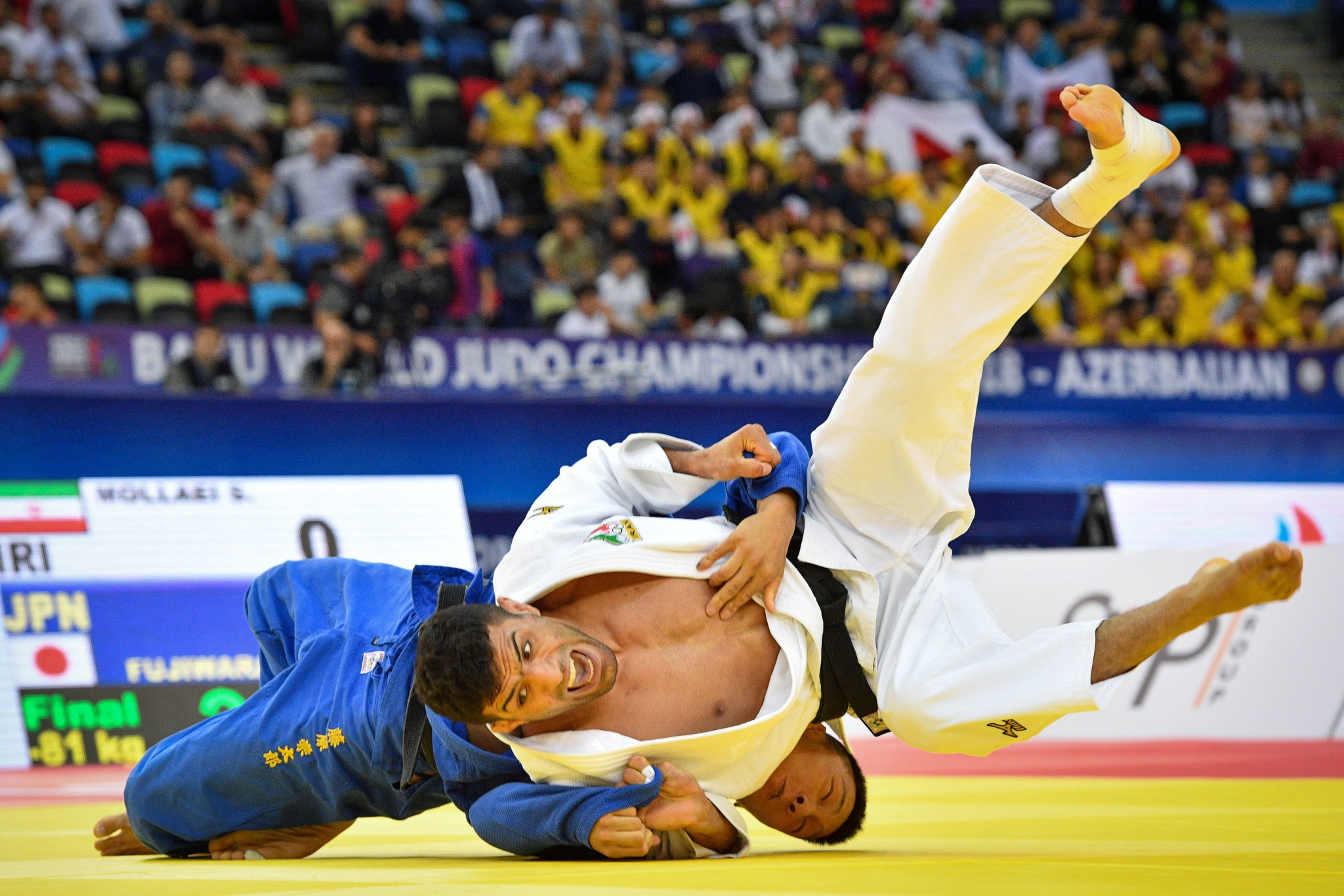 Iran promises to end boycott of judo matches against Israel after agreement signed with IJF