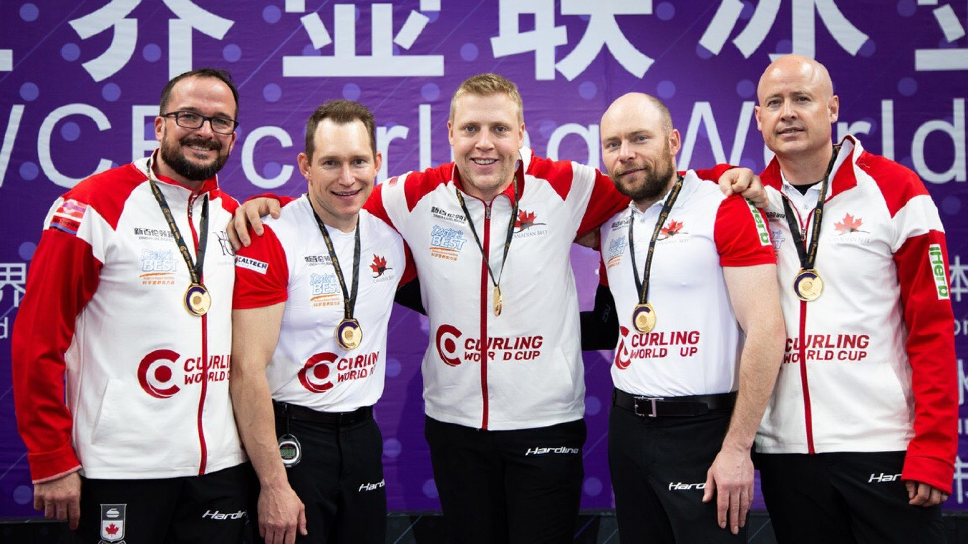 Canada 2 beat the hosts in the men's final at the Curling World Cup Grand Final in Beijing ©World Curling