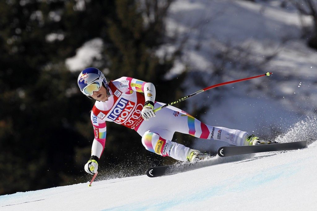Vonn earned Olympic downhill gold at Vancouver 2010 but missed Sochi 2014 with a knee injury