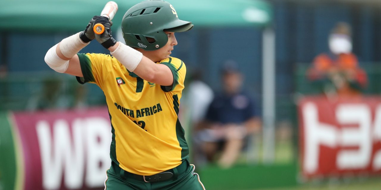 Hosts South Africa finished second at the Women's Softball Africa Qualifier ©WBSC