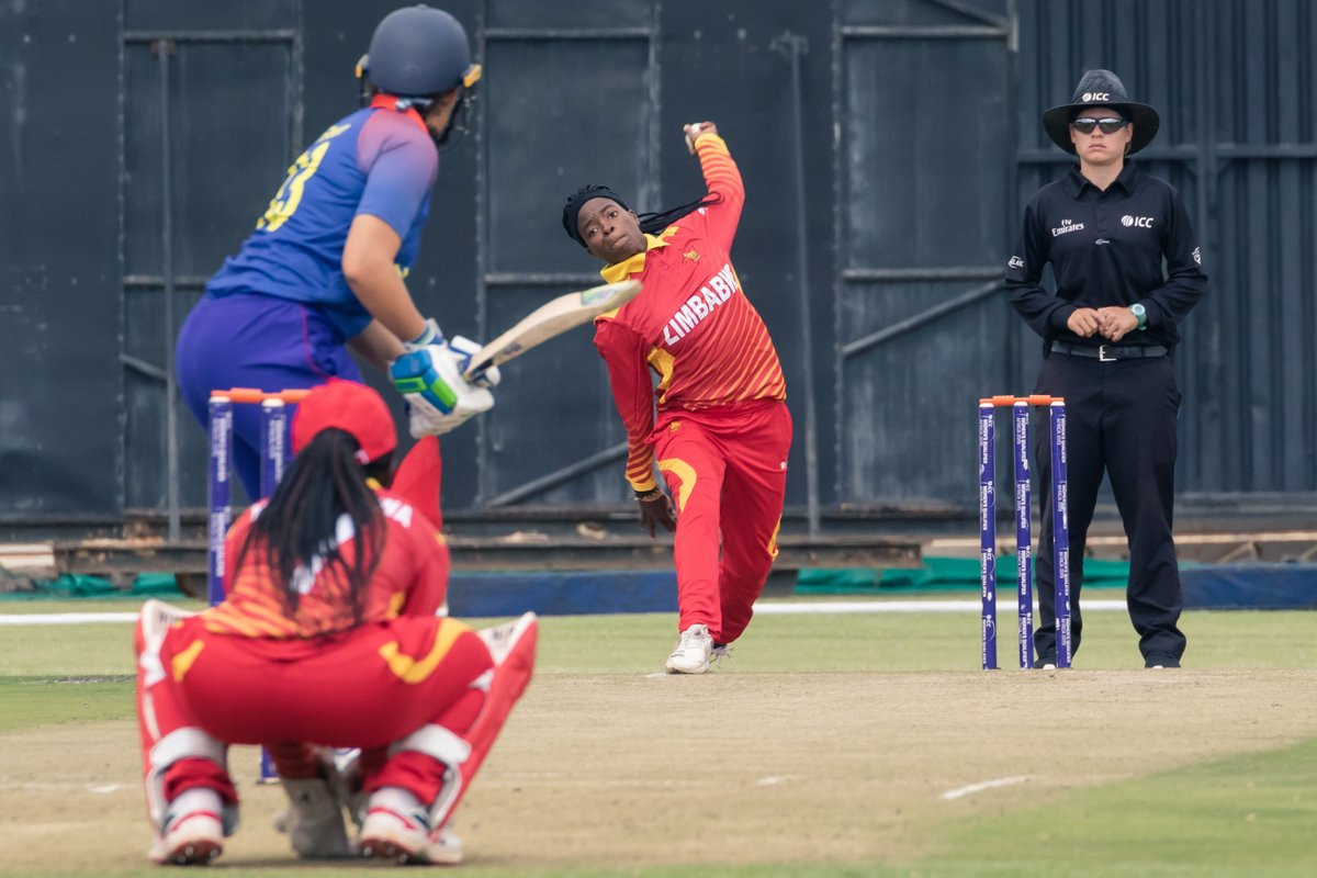 Zimbabwe defeated Namibia by 50 runs in the ICC Women's Qualifier Africa 2019 final ©Zimbabwe Cricket