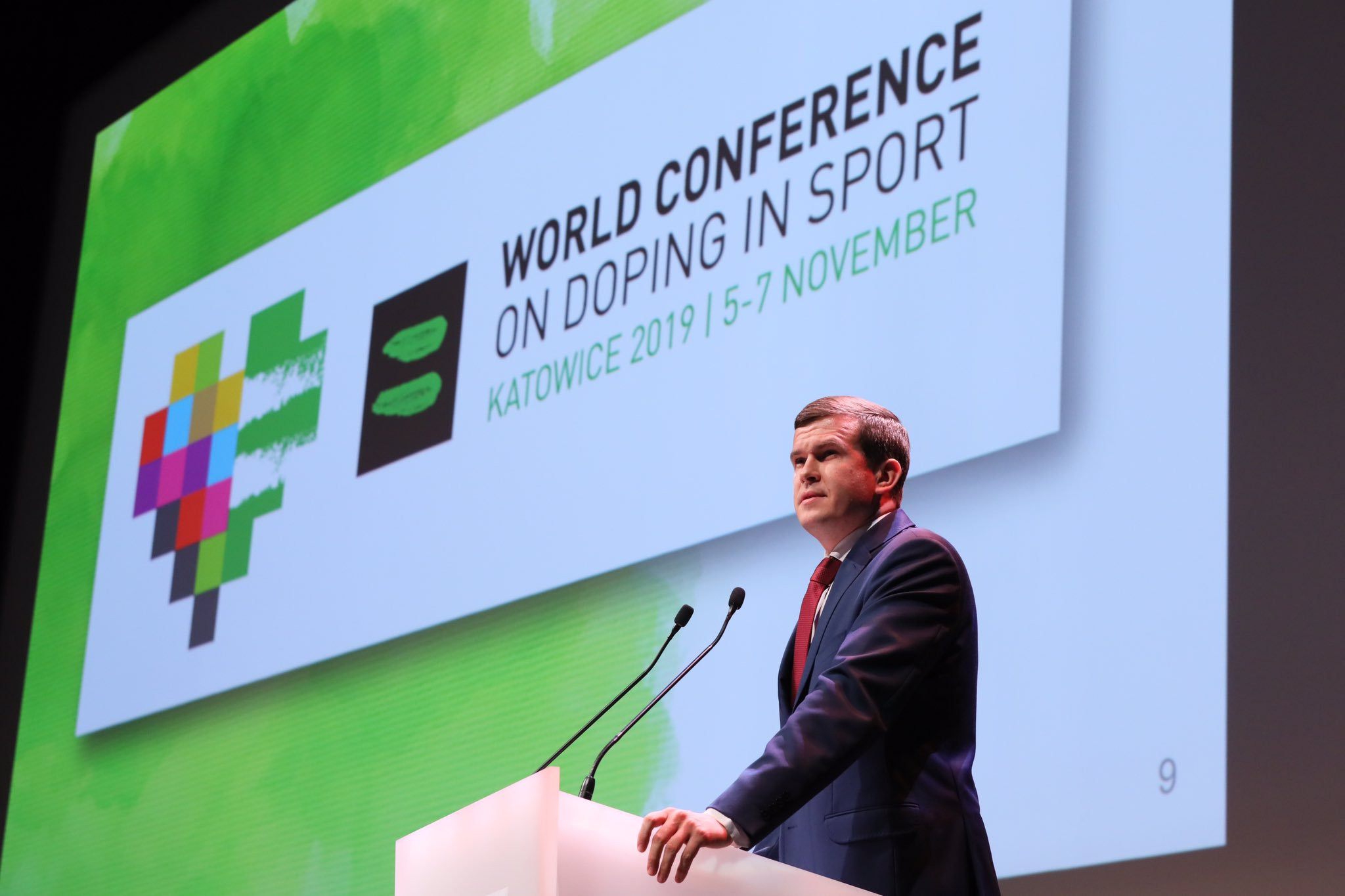 Witold Bańka is hoping to replace Sir Craig Reedie at the World Anti-Doping Agency ©Twitter