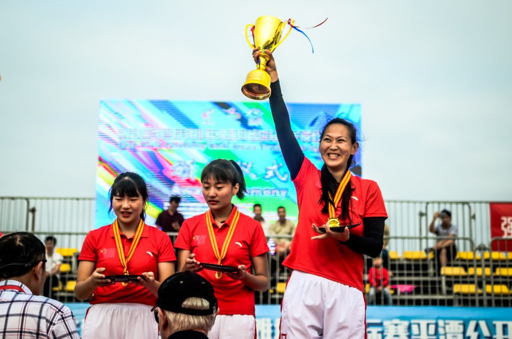 United States and China claim first Beach ParaVolley Standing World Series gold in Pingtan
