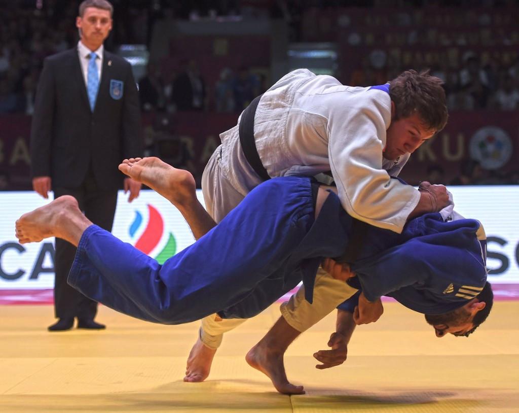 Majdov takes gold on final day of IJF Baku Grand Slam