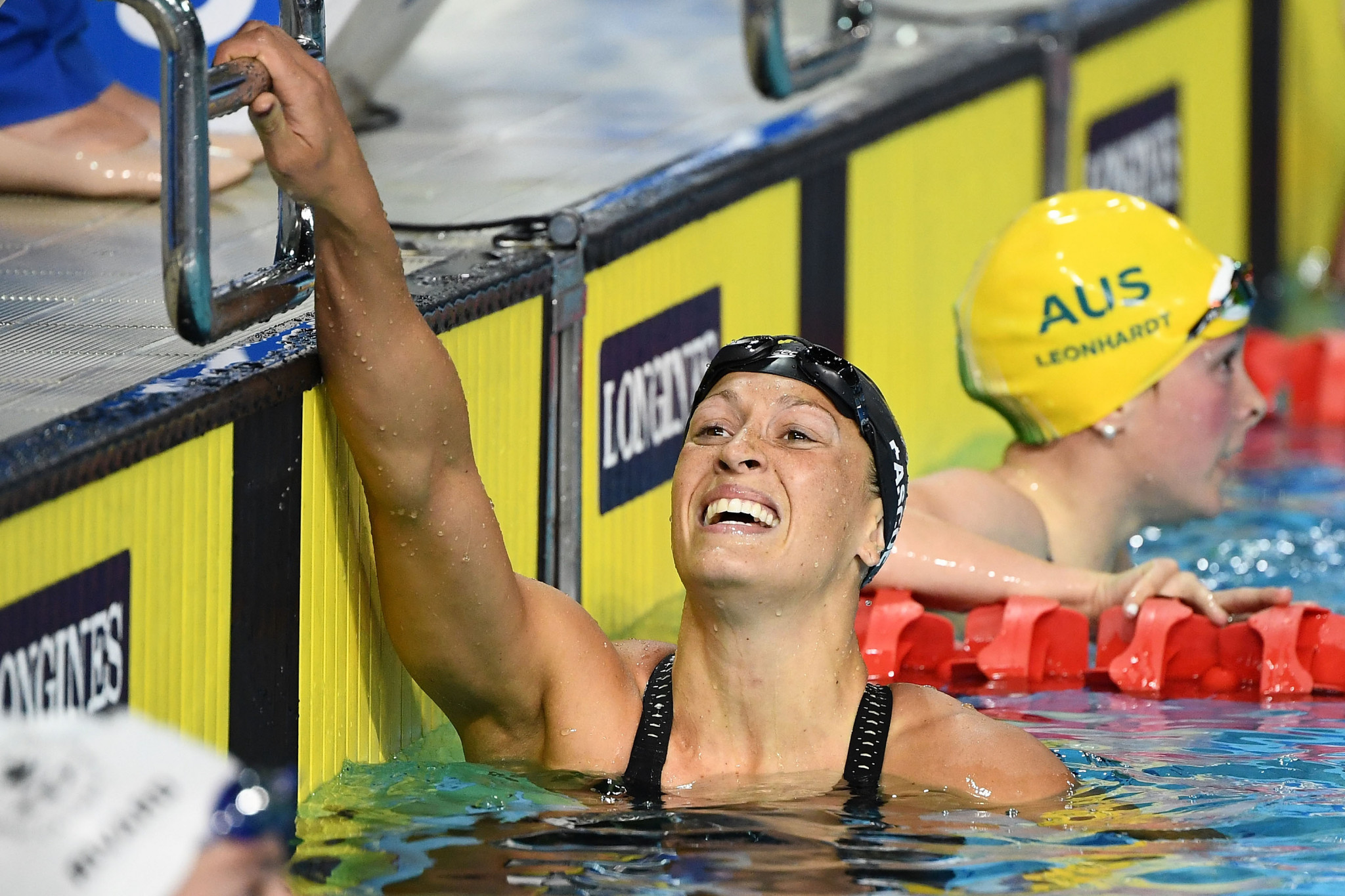 Pascoe breaks third world record at Para Swimming World Series in Singapore