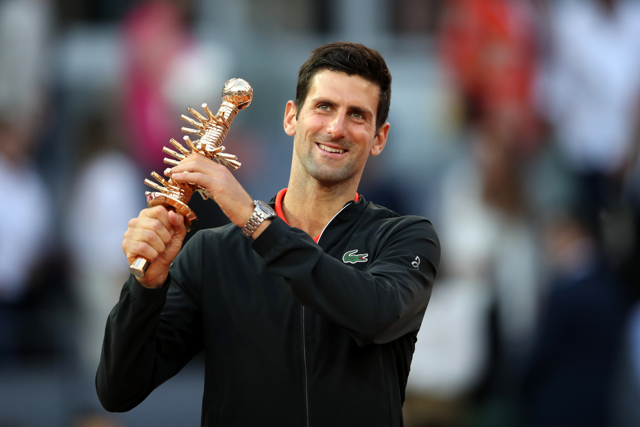 World number one Djokovic beats Tsitsipas to win Madrid Open