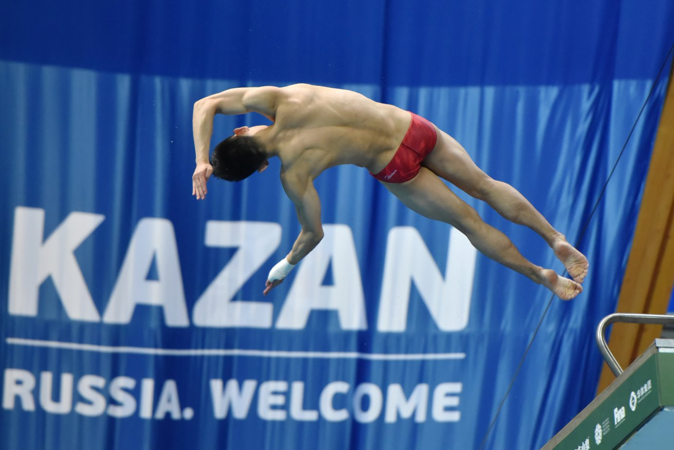 Yang claims 10m platform gold for China at FINA Diving World Series in Kazan
