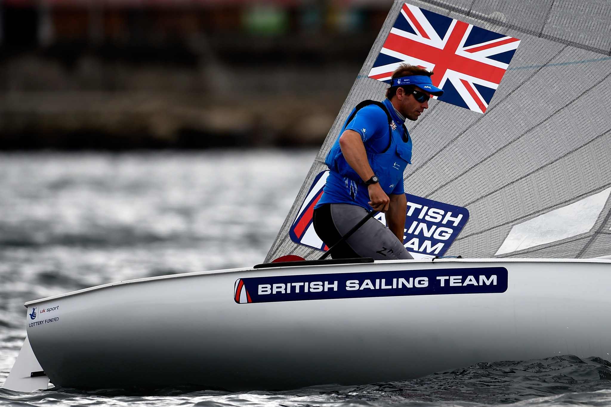 Britain's Ed Wright will be aiming to defend his title at the Finn European Championships in Athens ©Getty Images