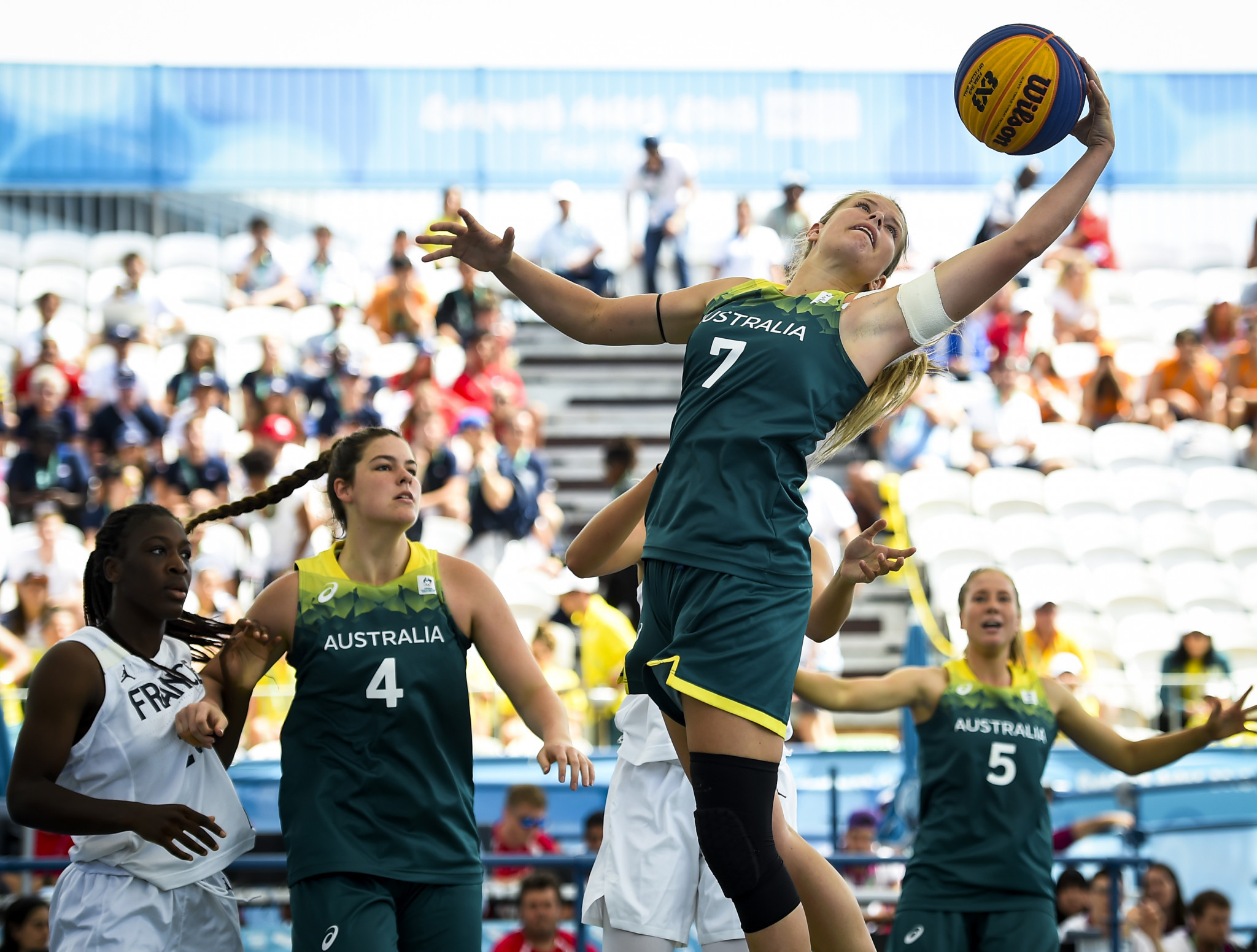 3x3 basketball featured at last year's Youth Olympic Games in Buenos Aires 2018 ©Getty Images