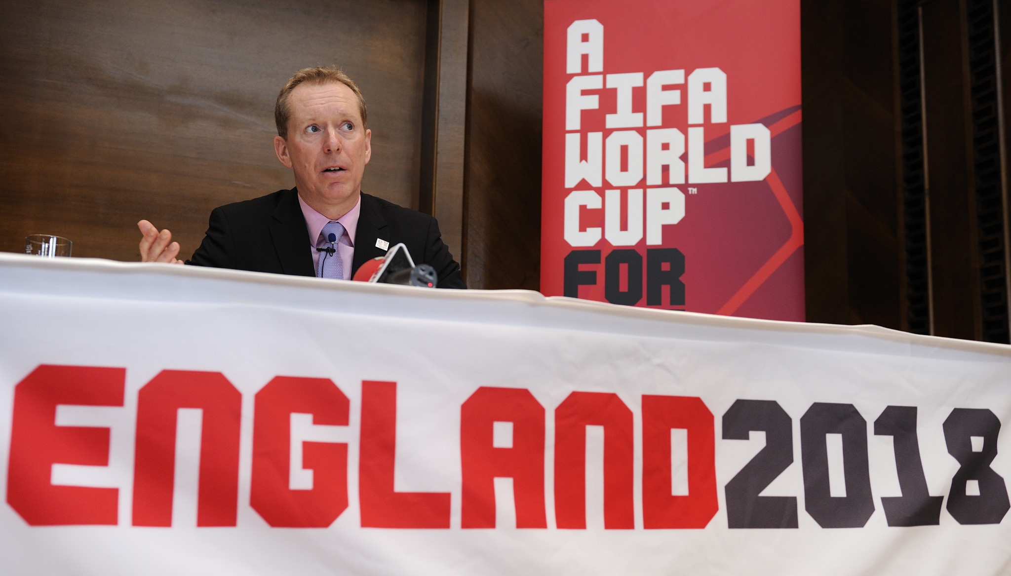 Andy Anson was the chief executive of the company behind England's bid to host the 2018 FIFA World Cup ©Getty Images