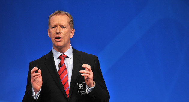 The British Olympic Association has today appointed Andy Anson, the head of England's failed bid to host the 2018 FIFA World Cup, as its new chief executive ©BOA