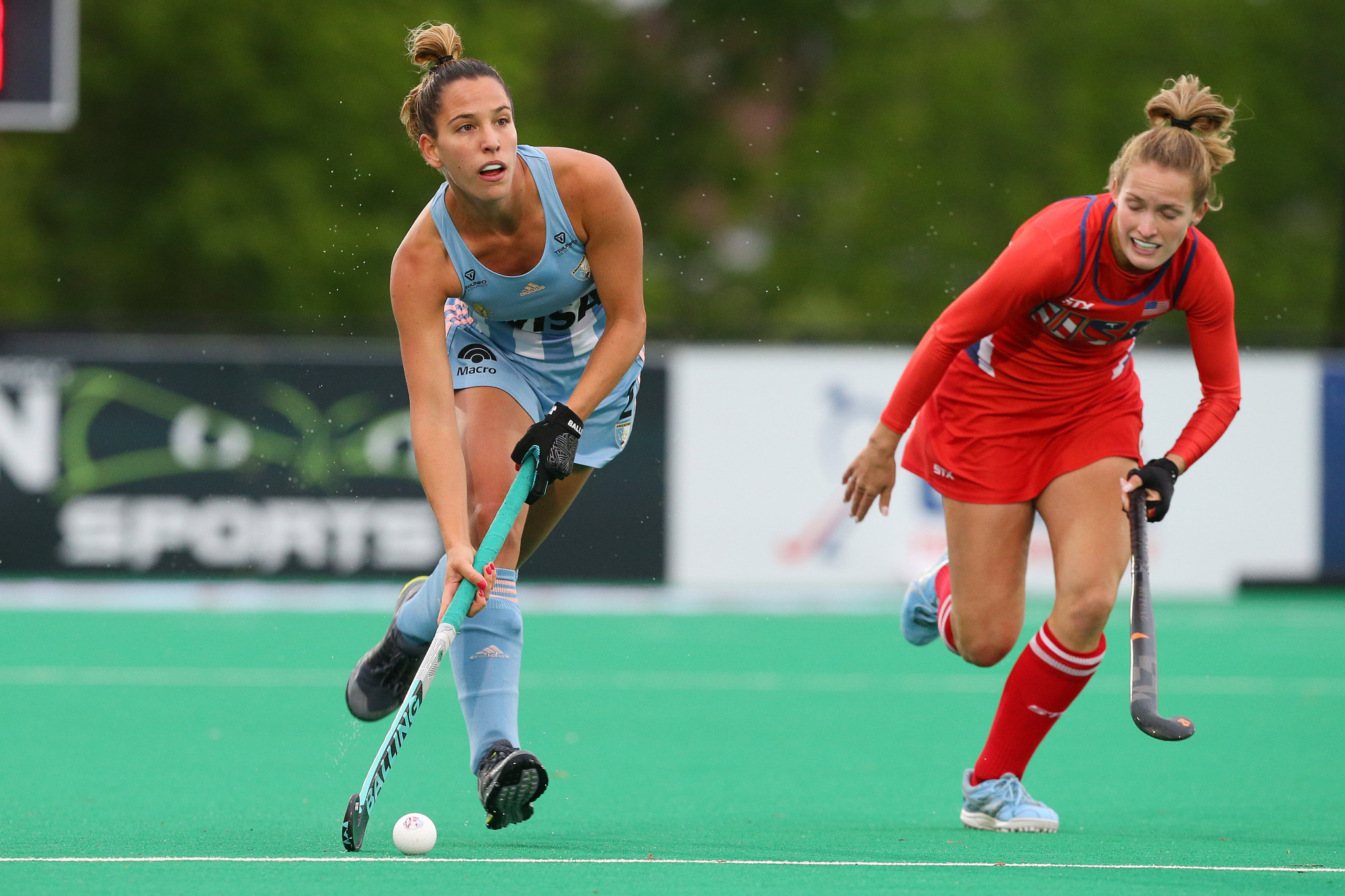 Argentina defeated the US in the women's FIH Pro League ©Getty Images