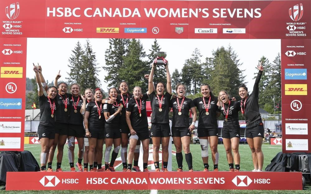 New Zealand seal third consecutive triumph at World Rugby Women's Sevens Series event in Canada