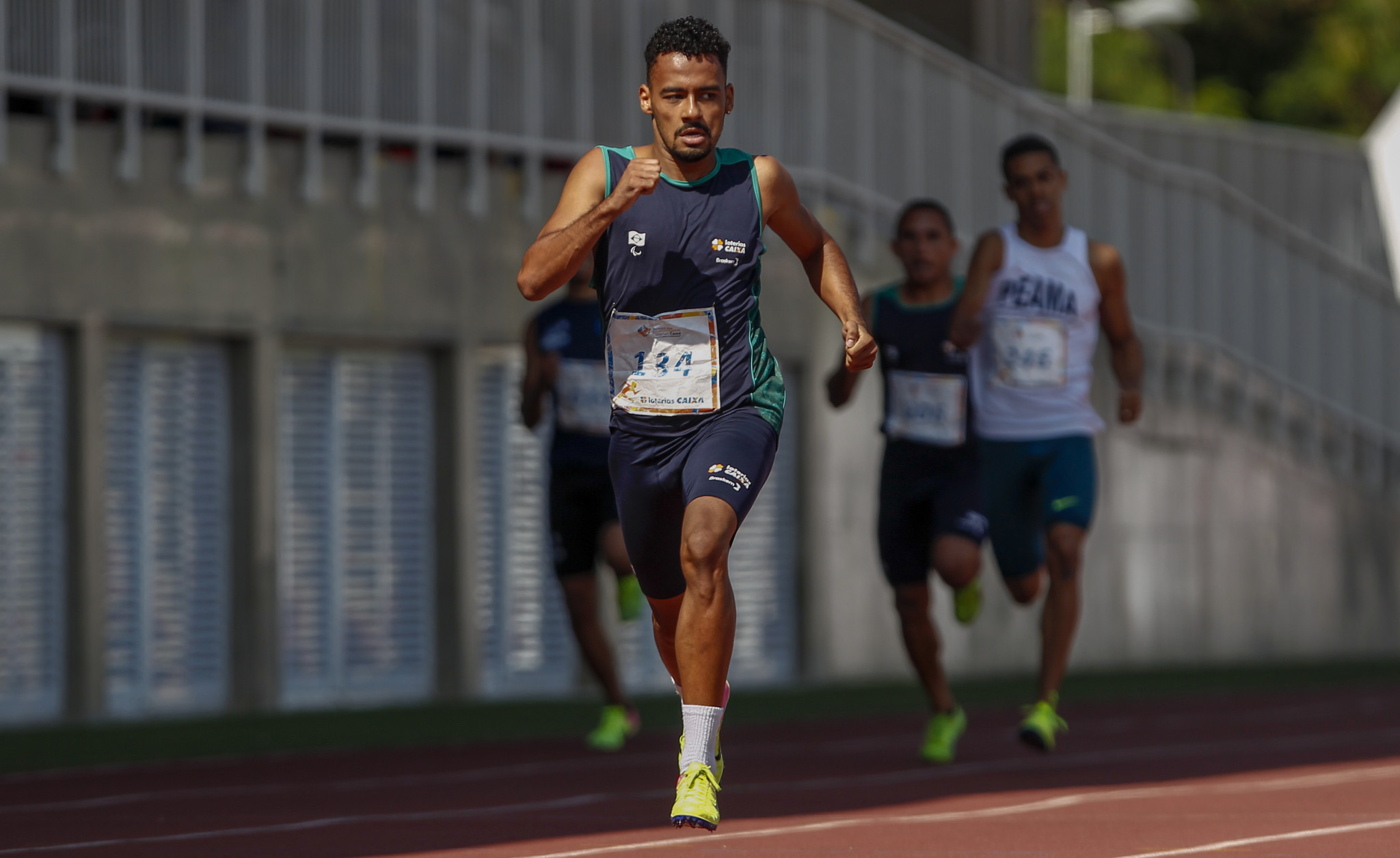 Brazilian runner Martins wins Americas Paralympic Committee award for April