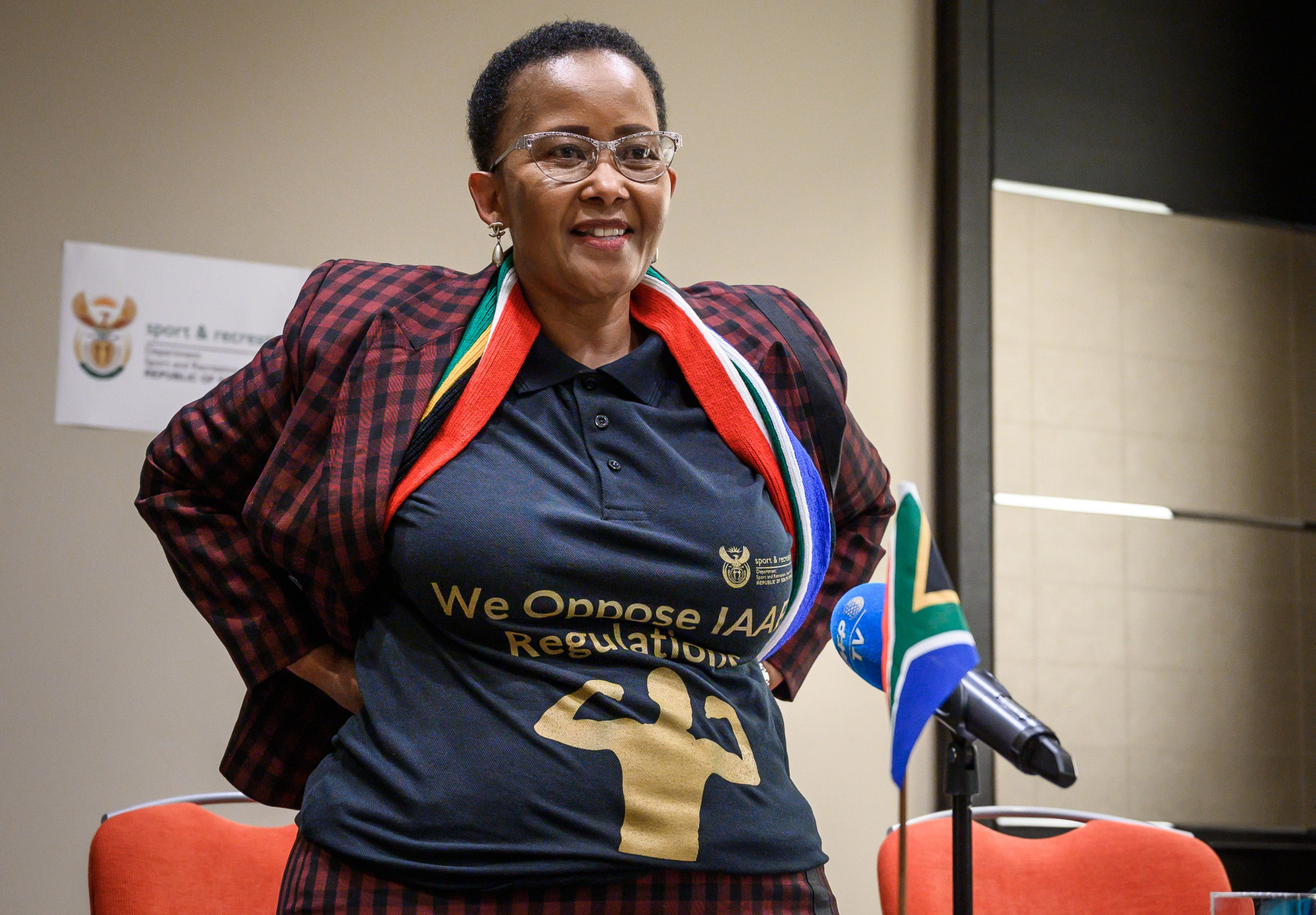 South Africa's Sport Minister Tokozile Xasa is reported to have instructed the ASA to appeal the CAS decision ©Getty Images