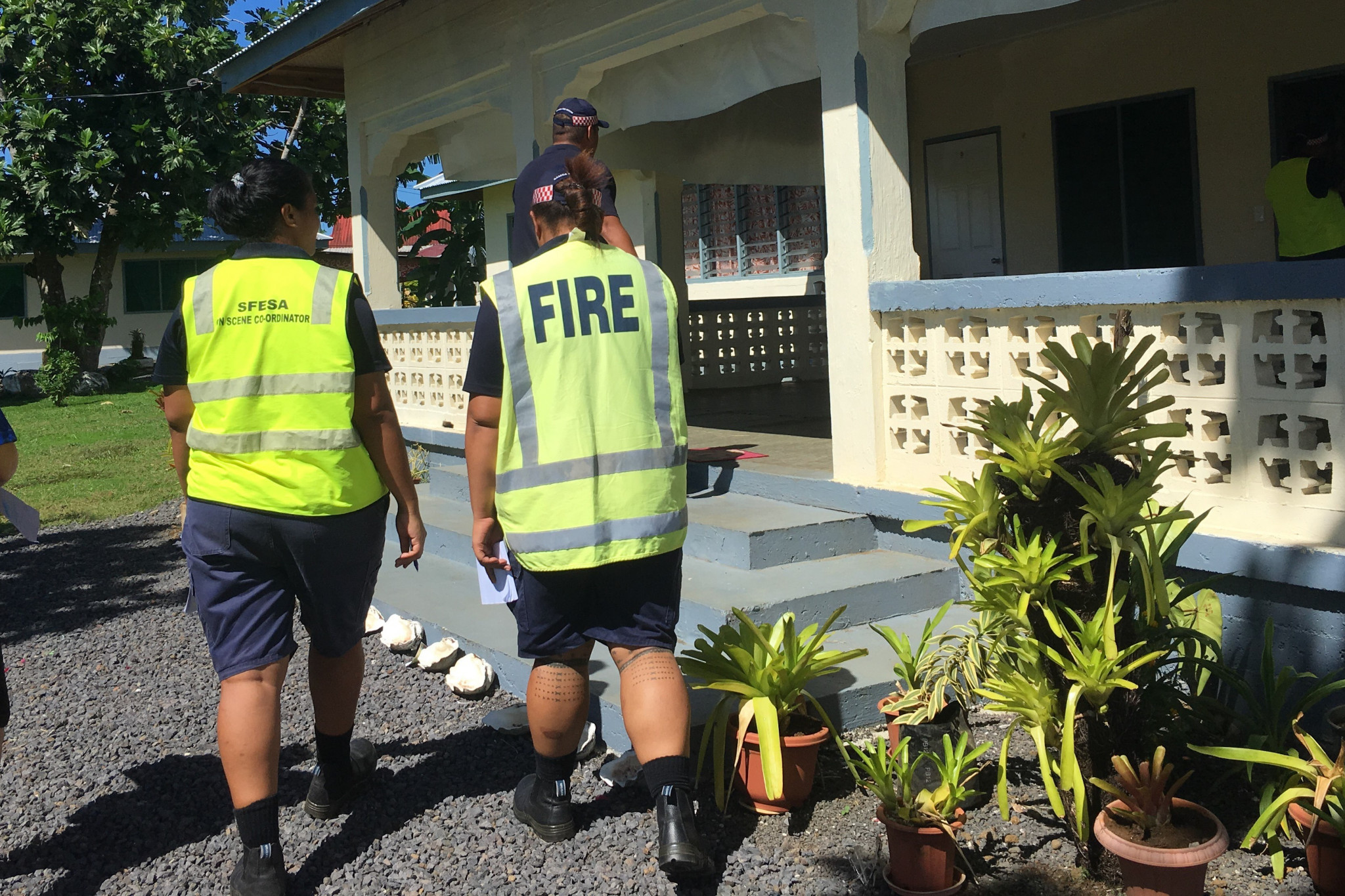 Inspections have been taking place to ensure safety ©Samoa 2019