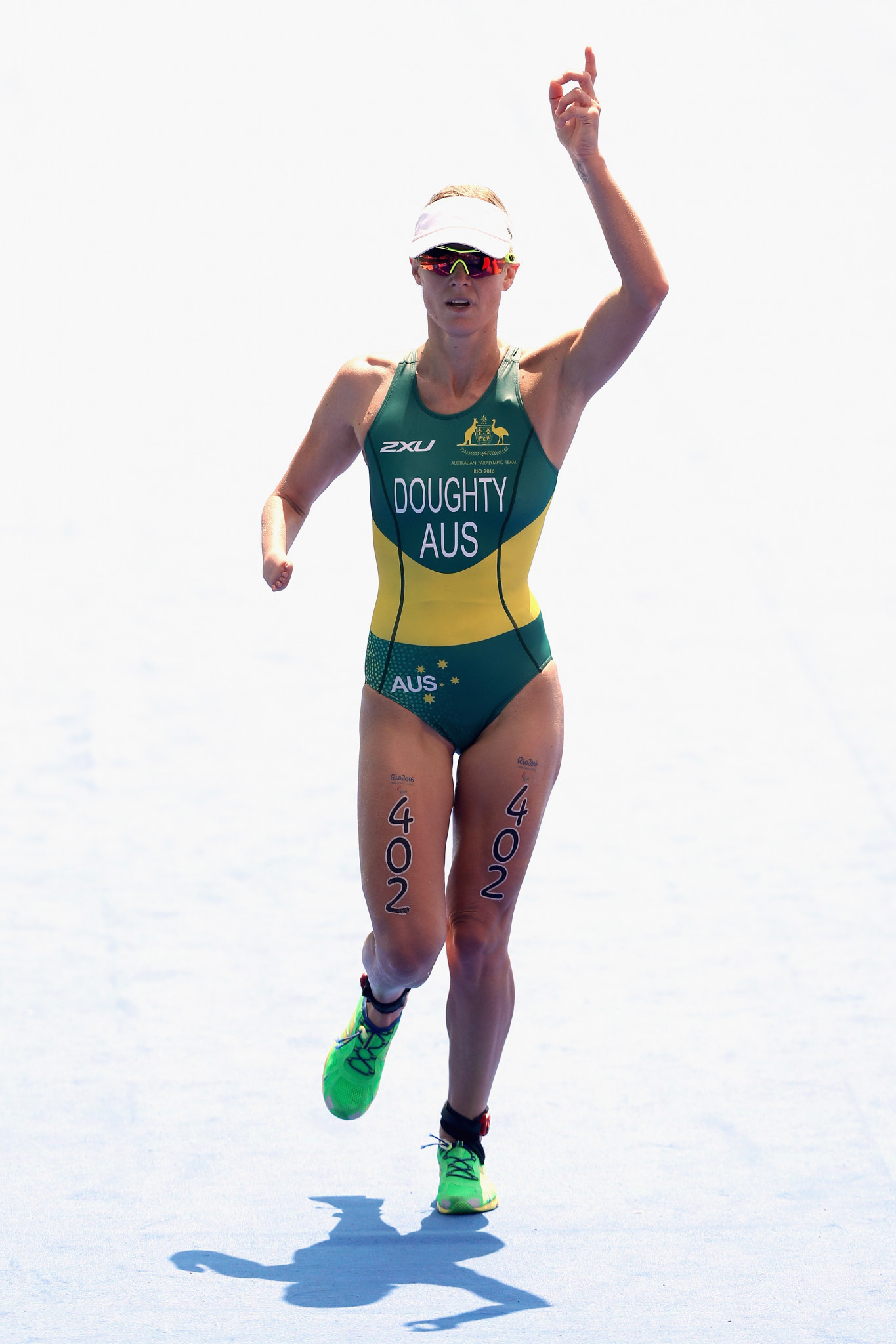 Australian triathlete Kate Doughty finished third with 23 per cent of the public votes ©Getty Images