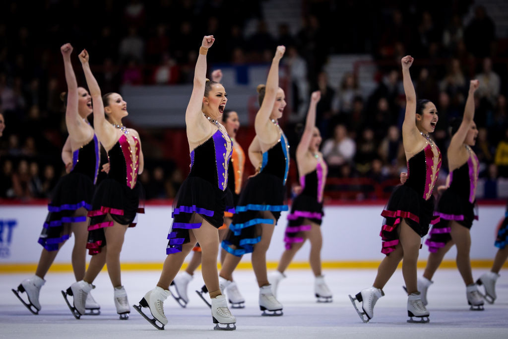 The International Skating Union has unveiled a new Challenger Series for the synchronised skating calendar ©ISU