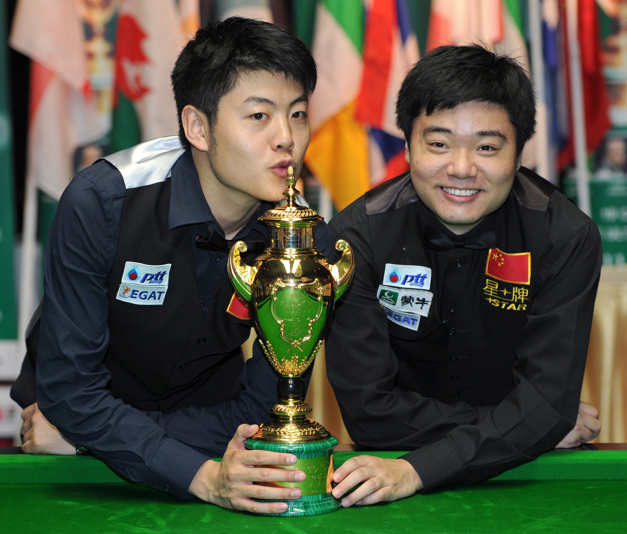 The Snooker World Cup returned from a 10-year hiatus in 2011, when China's Ding Junhui and Liang Wenbo triumphed in Bangkok ©Getty Images