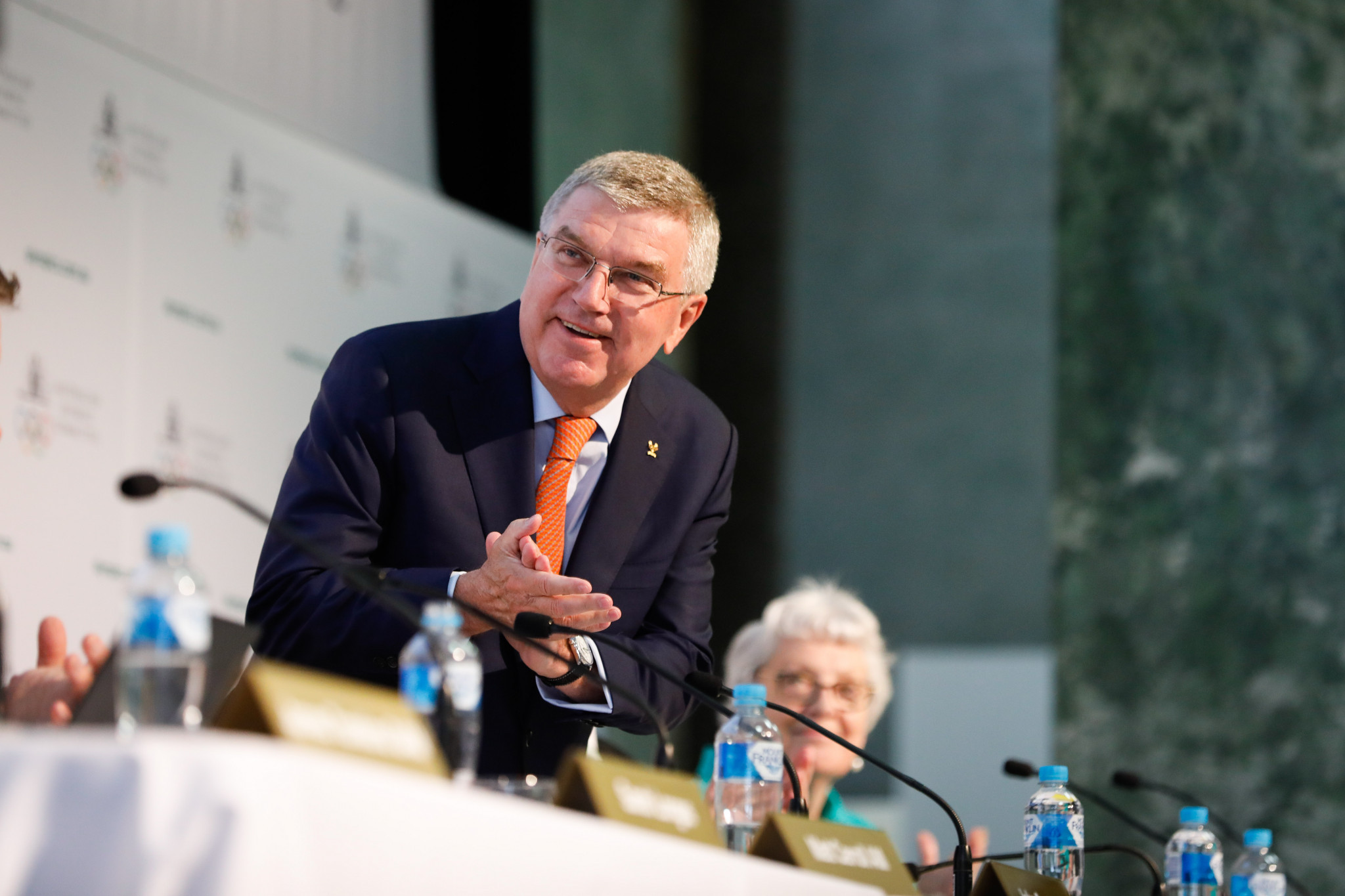 International Olympic Committee President Thomas Bach has praised Tokyo 2020's preparations for the Olympic and Paralympic Games ©Getty Images