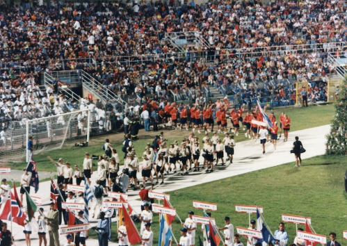 The 1997 Summer Universiade was held in Sicily in Italy ©FISU