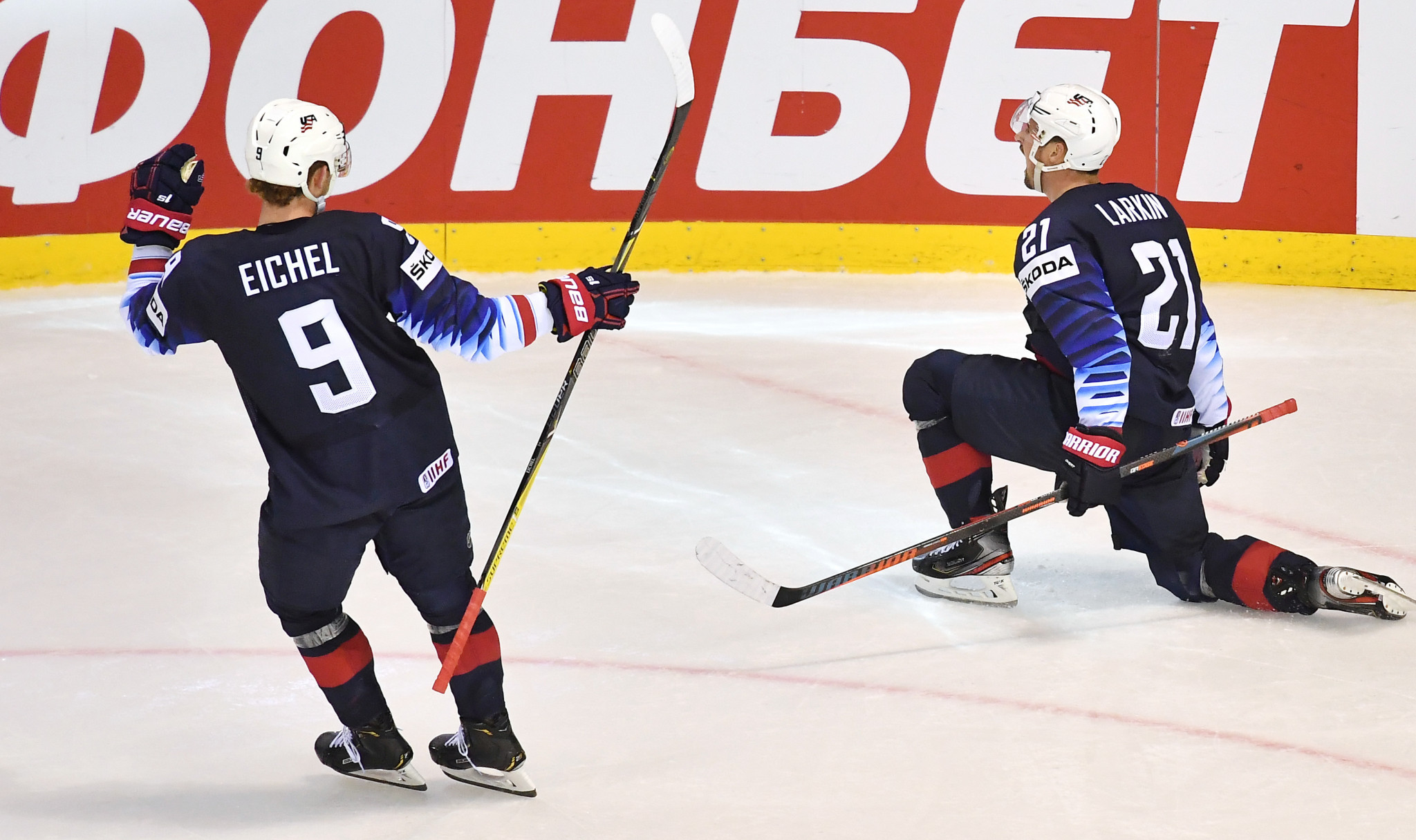 United States continued their resurgence from an opening-night loss against hosts Slovakia by beating Finland at the IIHF World Championship today ©Getty Images