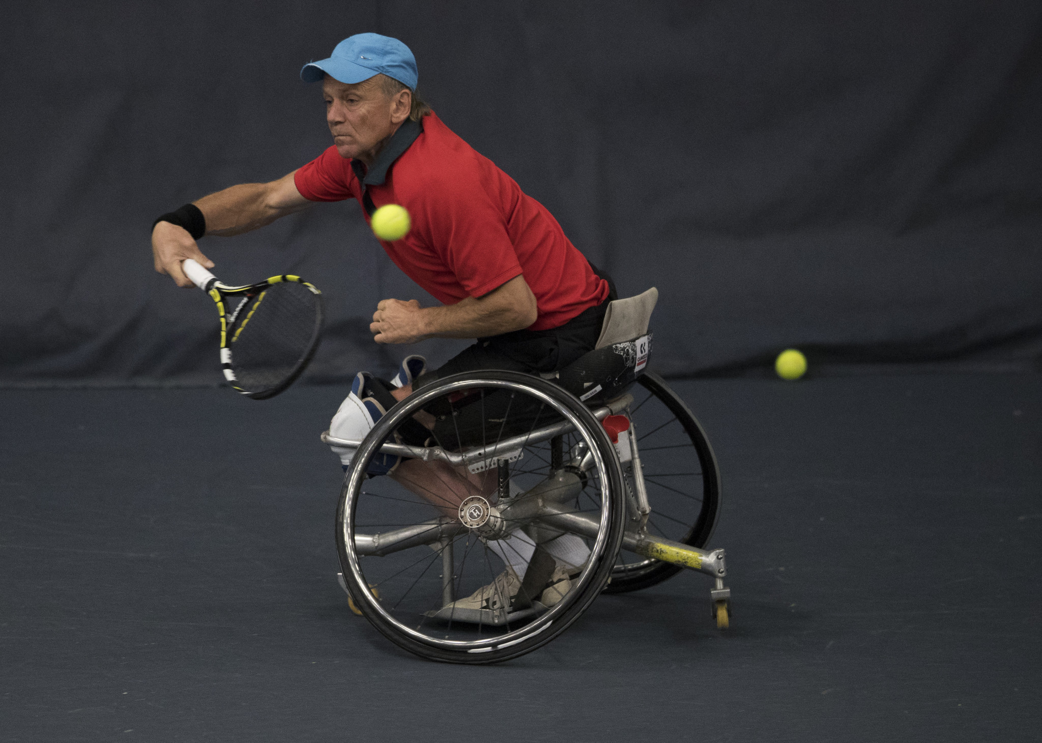 Austria's men edge past United States on opening day of ITF Wheelchair Tennis World Team Cup