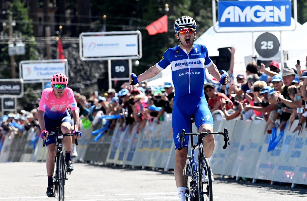 Asgreen takes first professional win on second stage of Tour of California