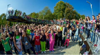 "Lithuanian National Olympic Committee's annual ""Move Week"" attracts record number of participants"
