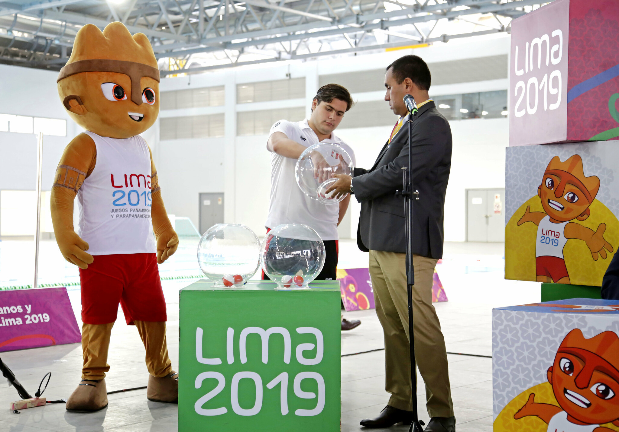 Draw held for Lima 2019 water polo competition