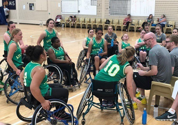 Australia name team to challenge for medal at IWBF Under-25 World Championships