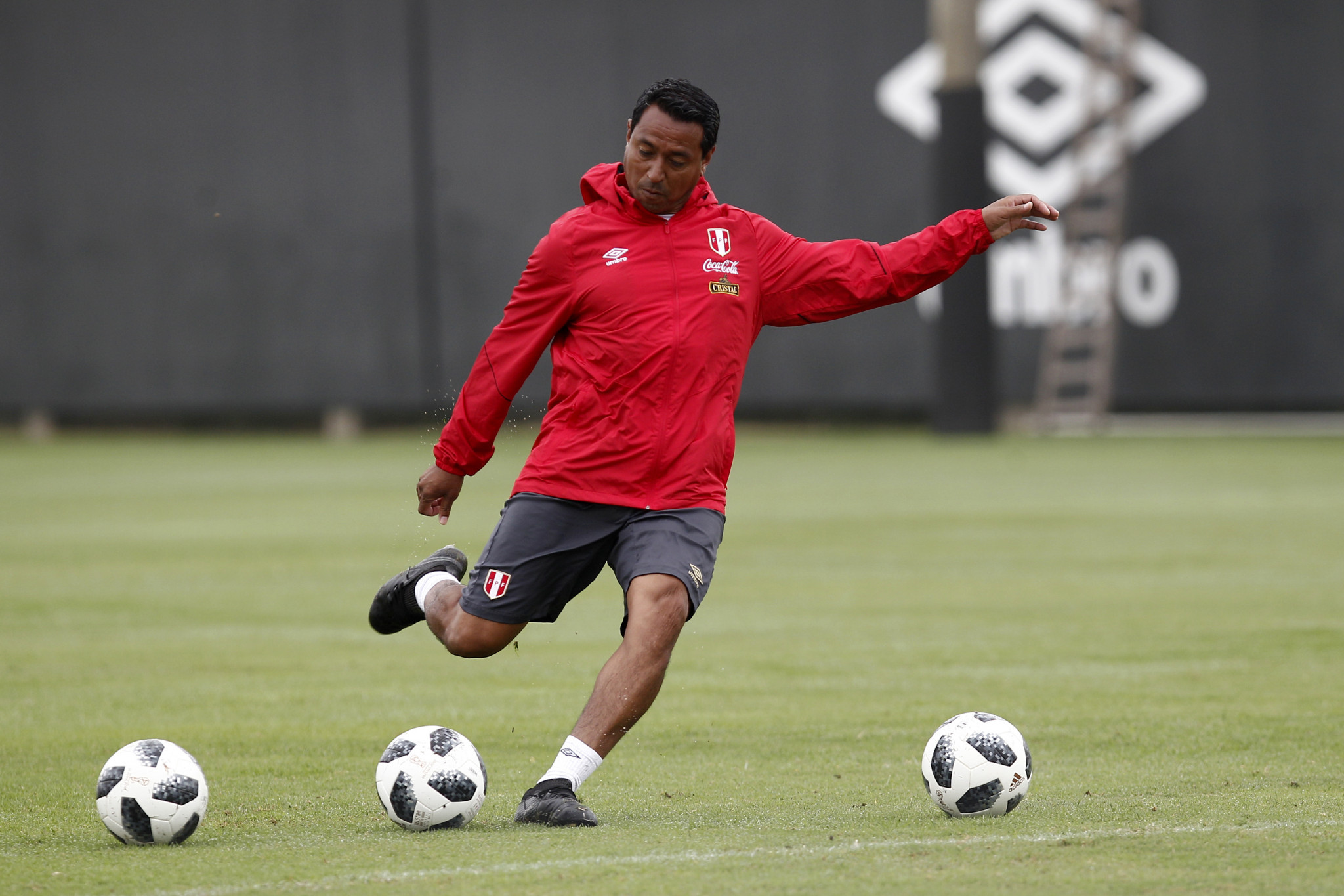 Nolberto Solano joined the coaching staff of the Peruvian senior team in 2017 ©Getty Images