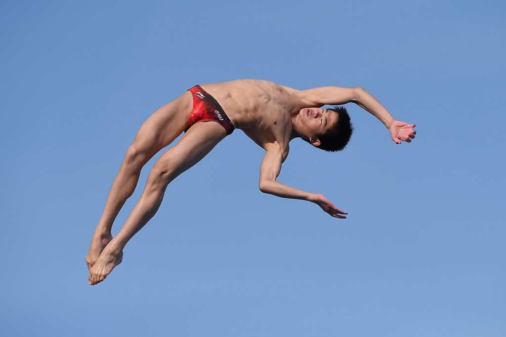 Chinese divers claim two more titles on final day of Gold Coast Grand Prix