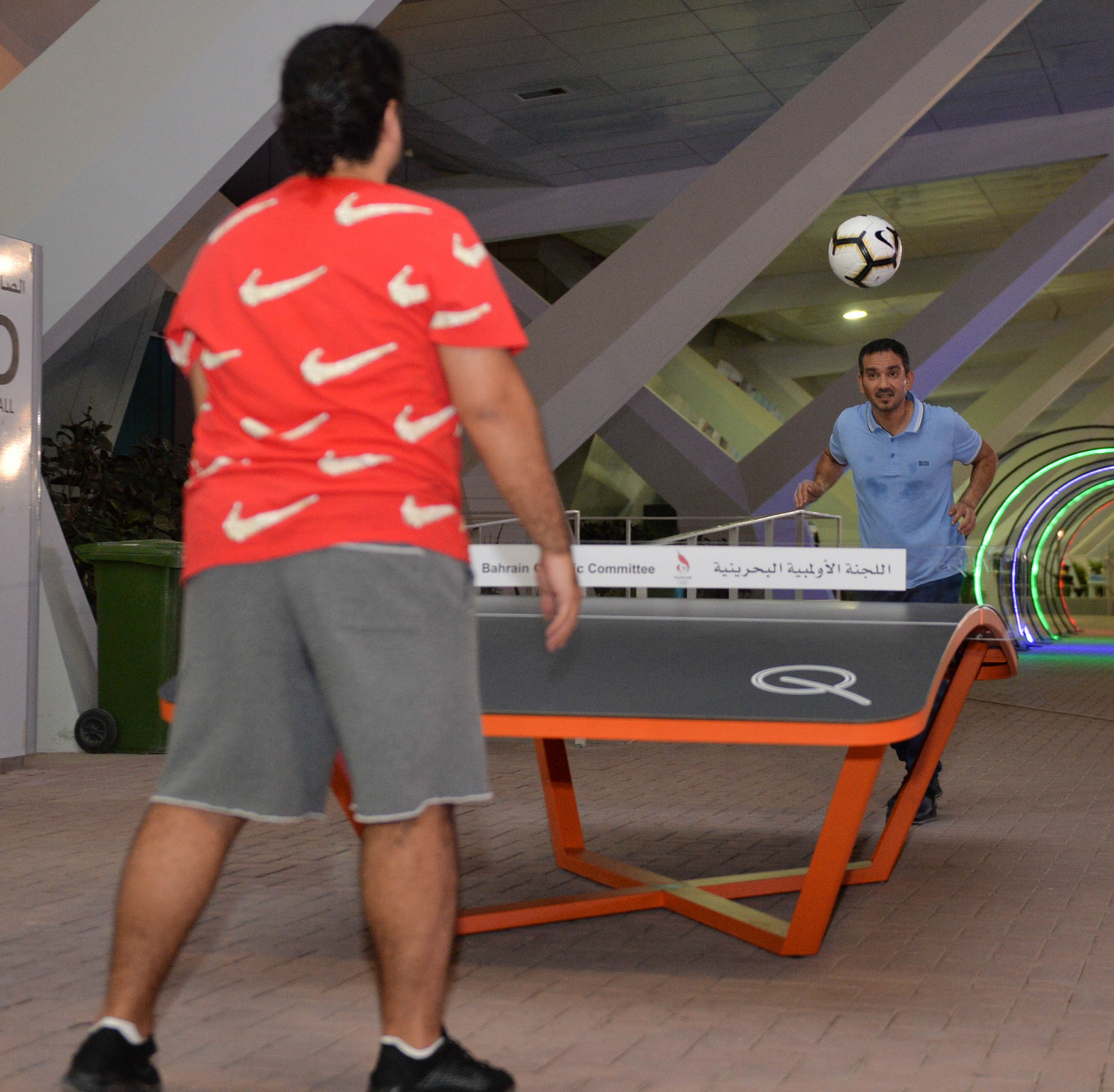 Teqball has been introduced to Bahrain ©Bahrain Olympic Committee