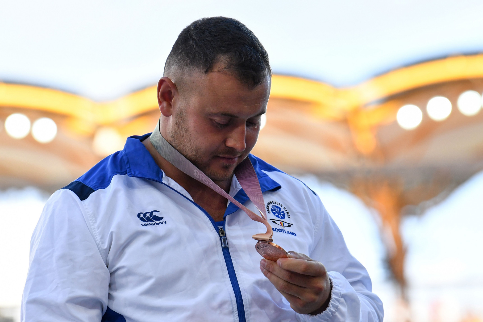 Scottish hammer thrower Mark Dry has bronze medals from the 2014 and 2018 Commonwealth Games ©Getty Images