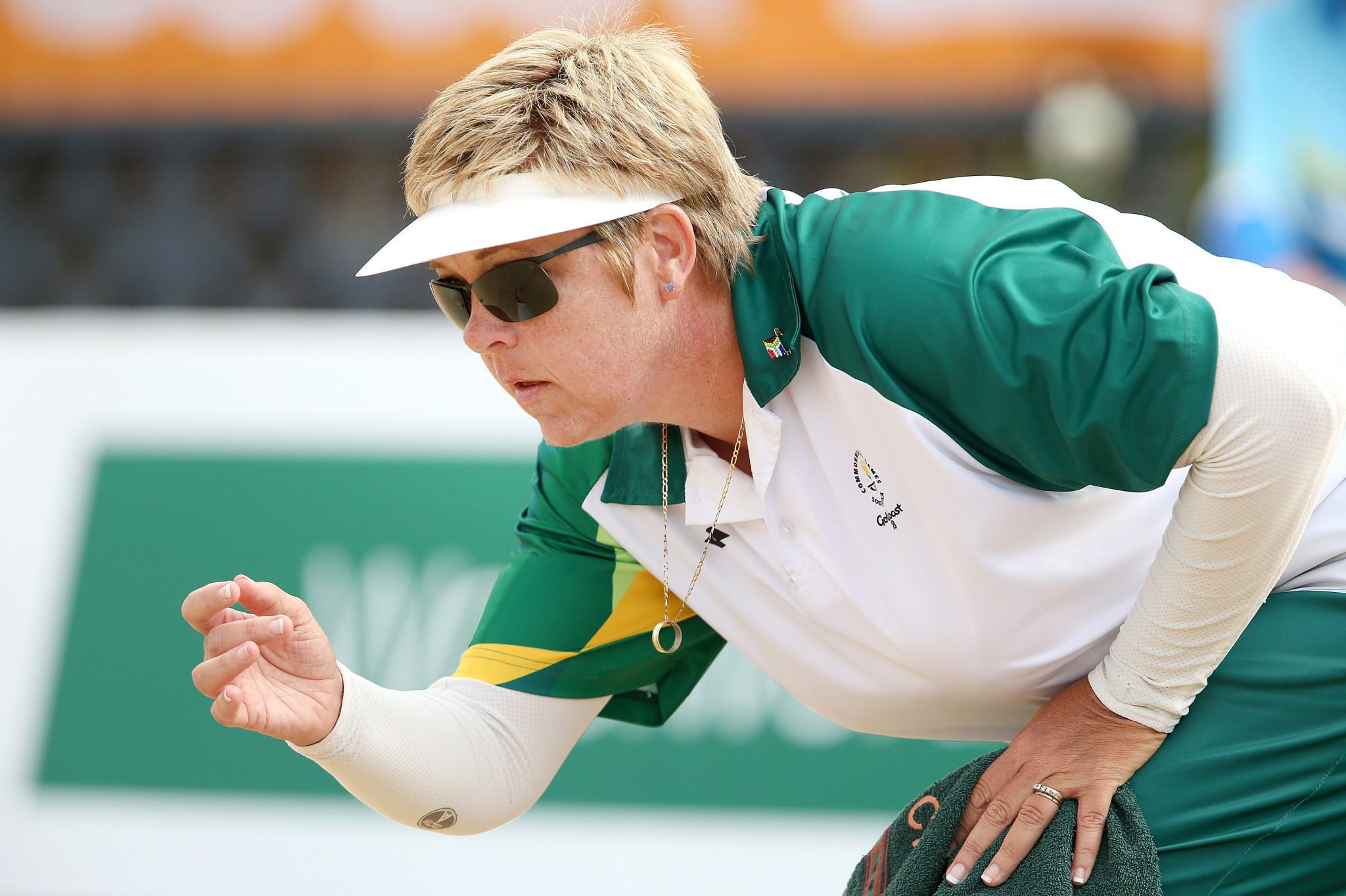 South Africa's Colleen Piketh dropped to second place in section one of the women's singles event ©Getty Images