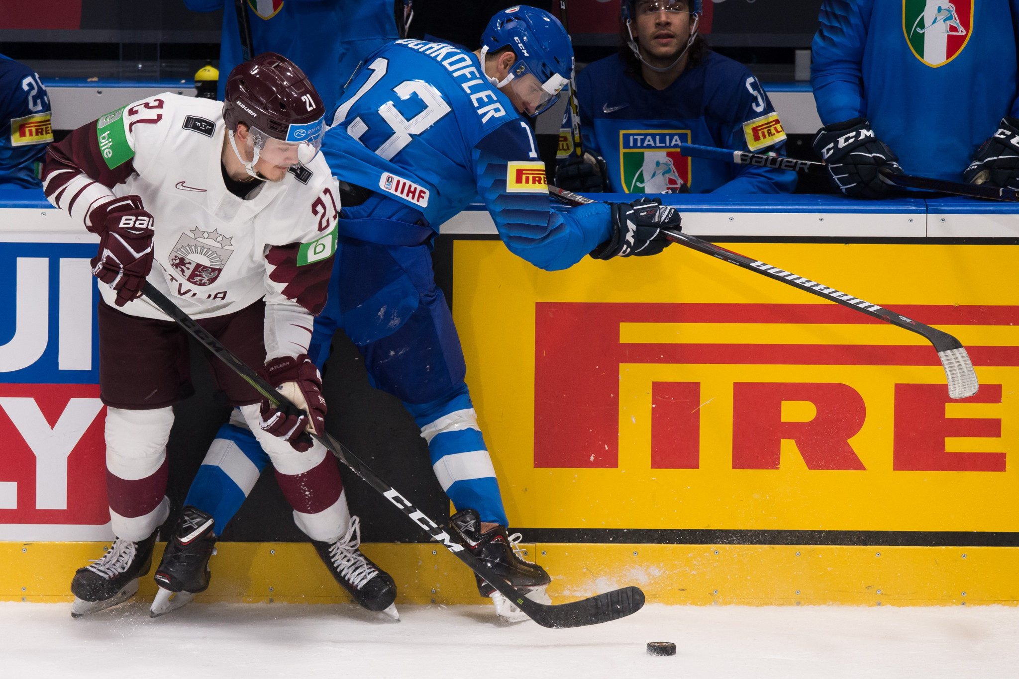 Latvia made it two wins from three matches in Group B by beating Italy 3-0 ©Getty Images