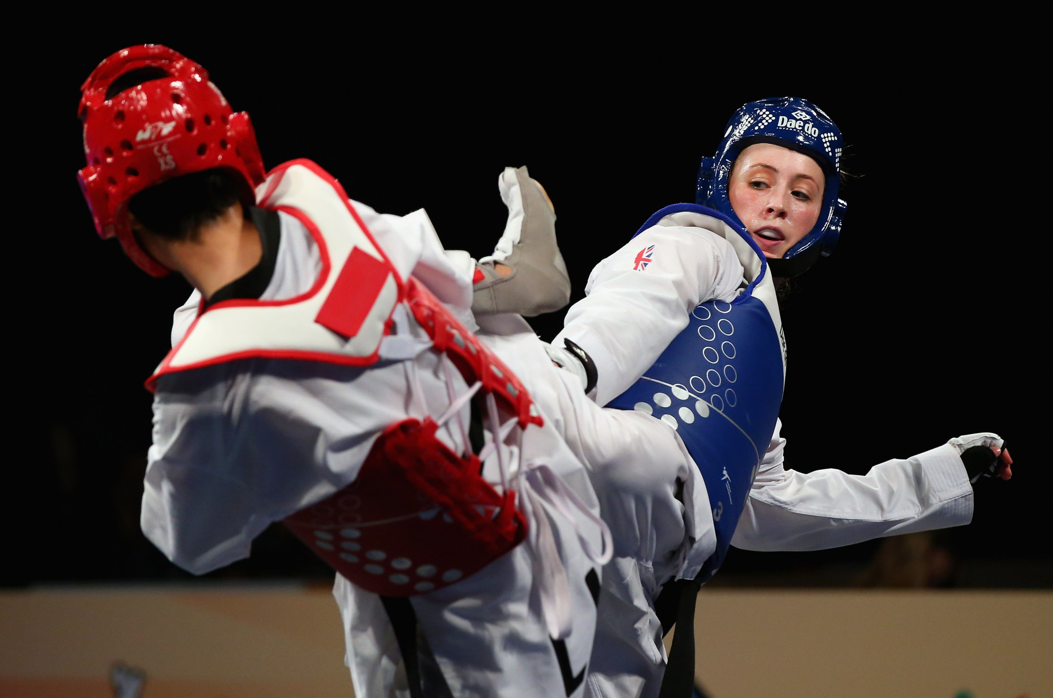 Britain's Jade Jones will hope to become world champion at the World Taekwondo Championships in Manchester ©Getty Images