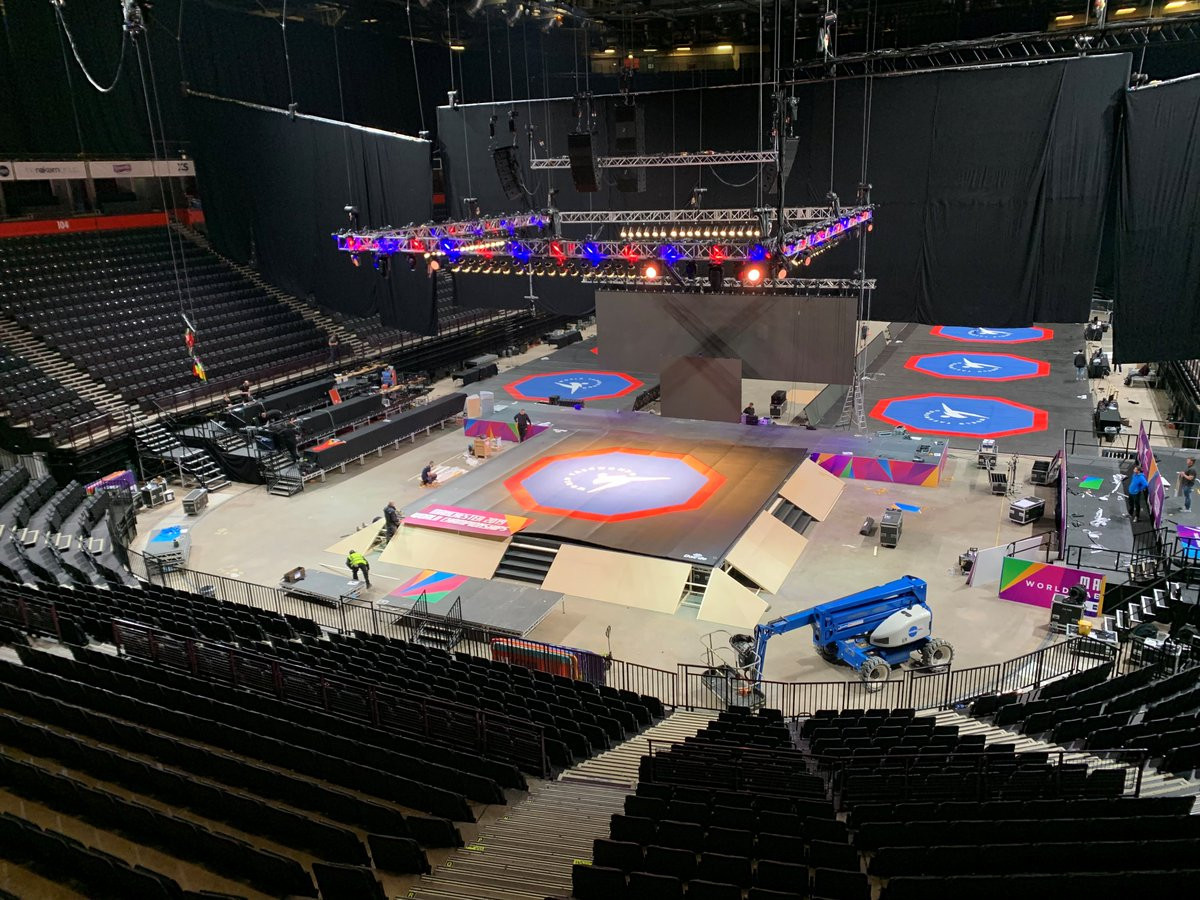The 2019 World Taekwondo Championships will take place at Manchester Arena ©Twitter