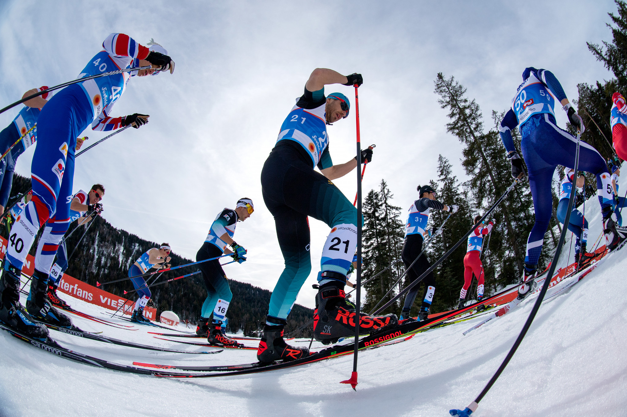 This year's edition of the FIS Nordic World Ski Championships was held in Seefeld in Austria ©Getty Images