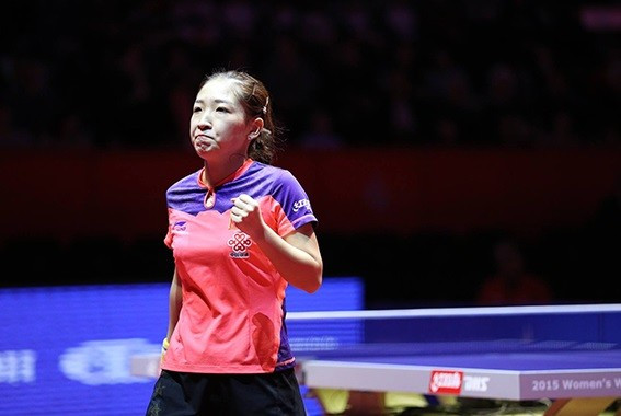Shiwen seals fourth ITTF Women's World Cup crown with dominant win over Ishikawa