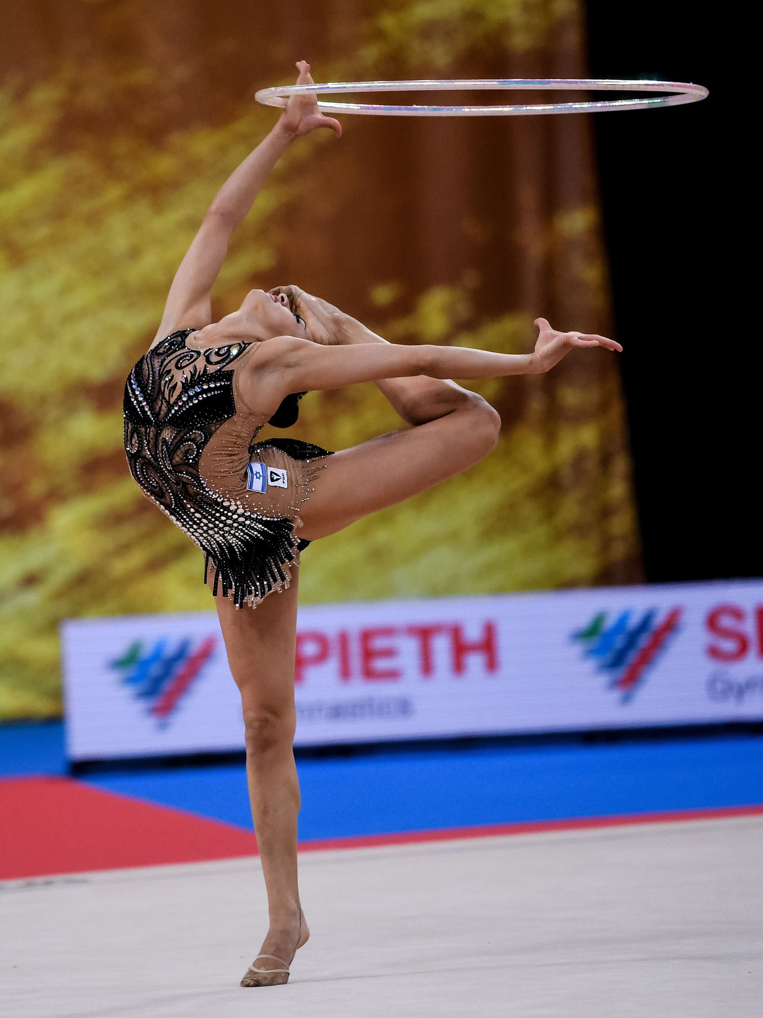 World all-around silver medallist Linoy Ashram will lead the Israel challenge at the European Rhythmic Gymnastics Championships that start in Baku tomorrow ©Getty Images