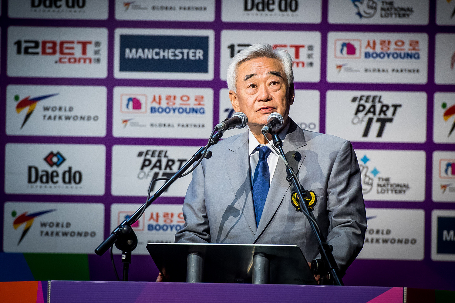 World Taekwondo President Choue Chung-won wished the competitors luck in his opening speech ©World Taekwondo