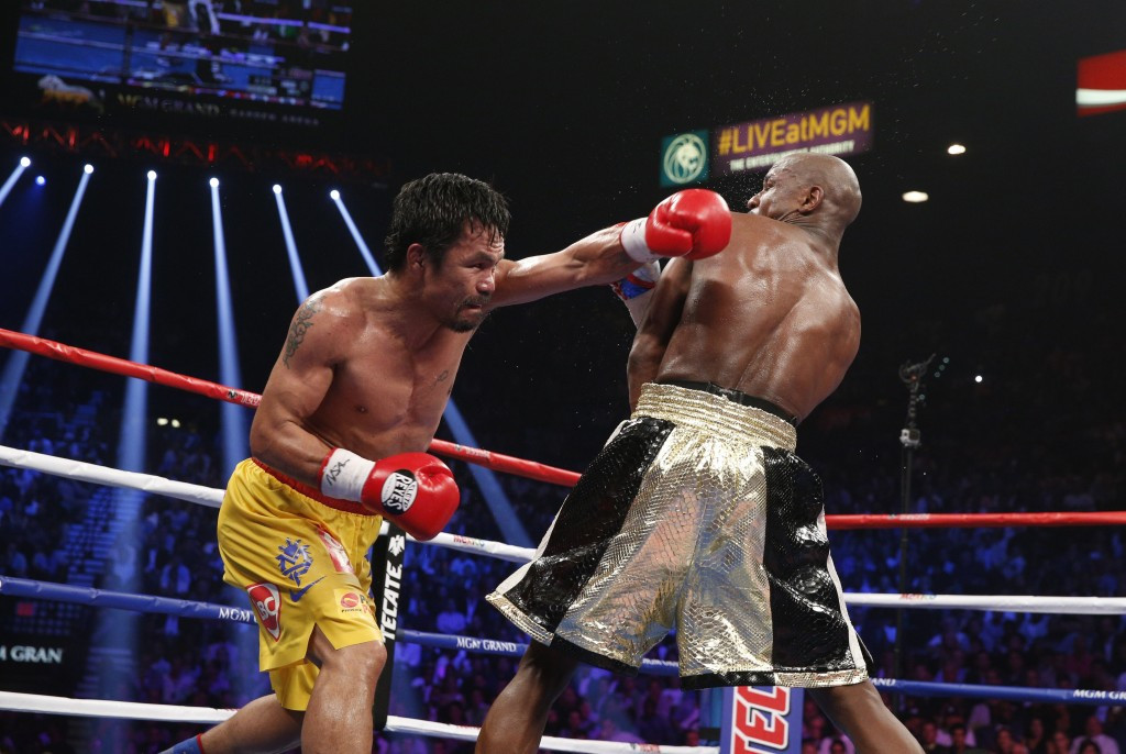The defensive style of Floyd Mayweather proved too much for Manny Pacquiao in Las Vegas ©AFP/Getty Images