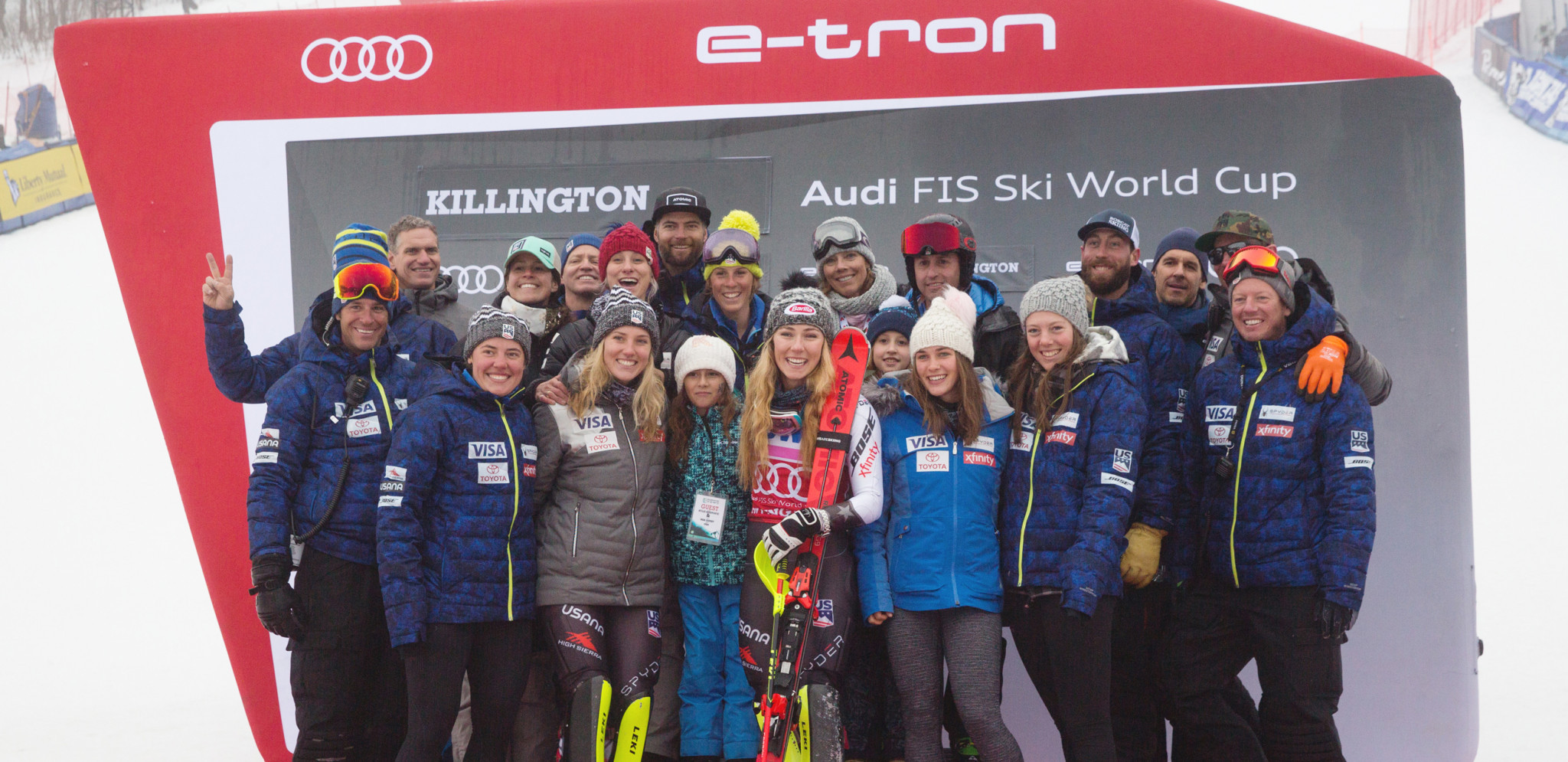 Record-setting Alpine ski racer Mikaela Shiffrin headlines a host of athletes and coaches to have been honoured by US Ski and Snowboard for the 2018-2019 season ©US Ski and Snowboard
