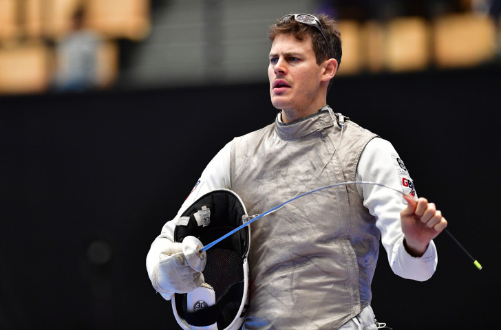 Brtain's Richard Kruse will defend his FIE Foil Grand Prix title in Shanghai this weekend ©Getty Images