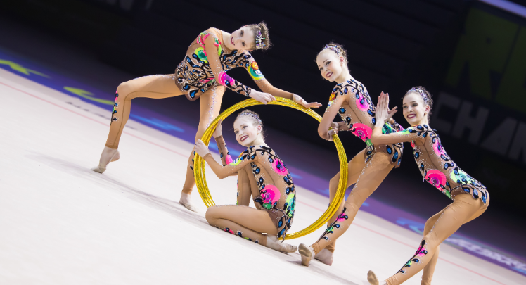 Russia top junior five hoops qualification standings at Rhythmic Gymnastics European Championships