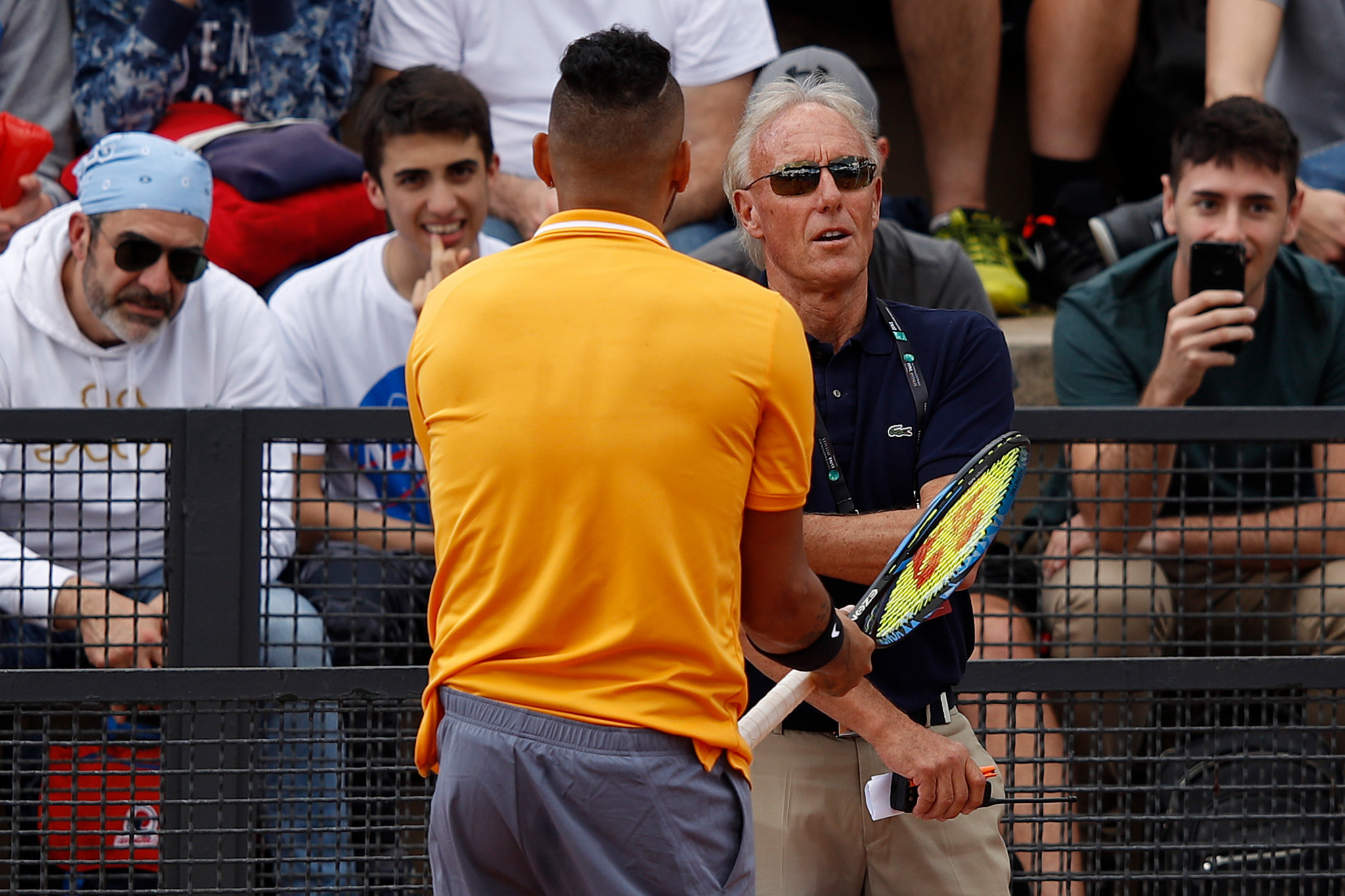 Australian Nick Kyrgios stole the headlines for the wrong reasons once again as he stormed off court at the Italian Open ©Getty Images