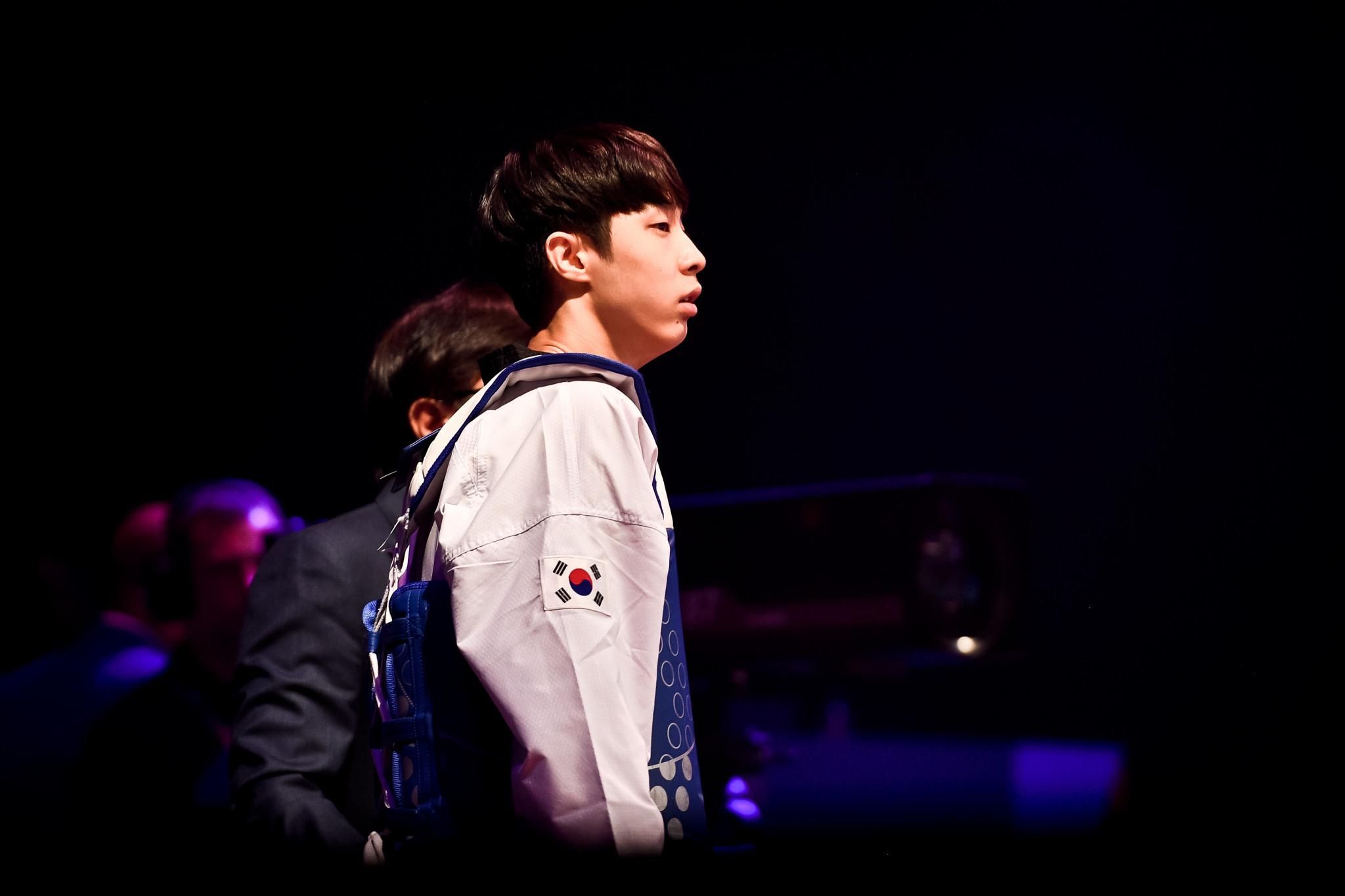 Compatriot Jang Jun then reigned supreme in the men's under-58kg final ©World Taekwondo